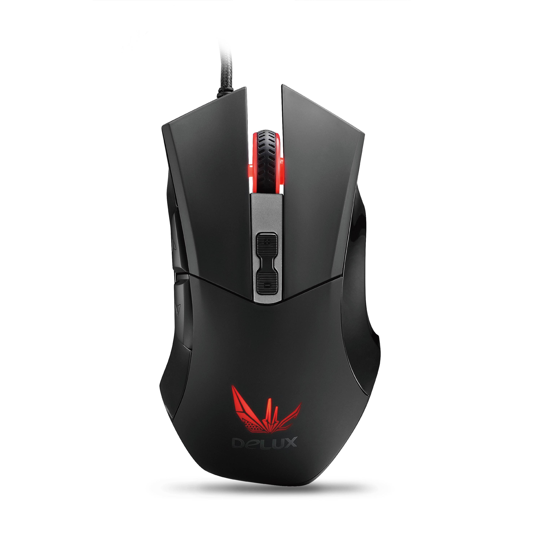 Мышь игровая Delux DLM-555OUB