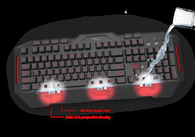Клавиатура игровая ASUS Cerberus USB